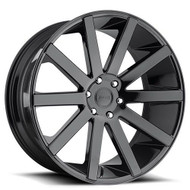 Dub ® Shot Calla S219 Wheel 24X10 Black 6X5.5 30mm | S219240077+30