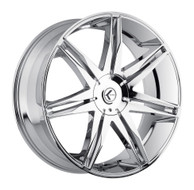 Kraze ® Epic 143 Wheel 26X10 Chrome 5X115 & 5X120 18mm | KR143-261028C