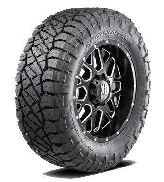 "Nitto ® Ridge Grappler Tire 37X12.50R22Lt F 127Q - 12 Ply / ""F"" Series 