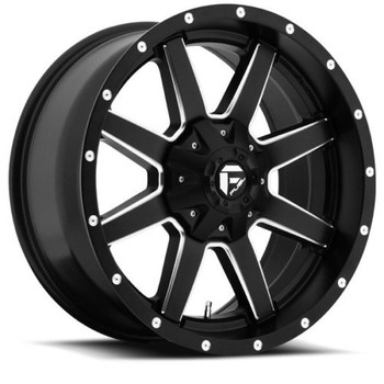 "FUEL MAVERICK D538 WHEELS 18X9 5X4.5"" ( 5X114.3 ) & 5X127 -12MM BLACK 
