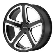 American Racing Hot Lap AR922 18x8 Wheels Rims Black Milled 38 | AR92288015938