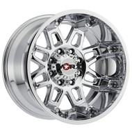 Worx 811C Conquest Wheels Rims Chrome 18x9 8x180 25 | 811-8998C+25