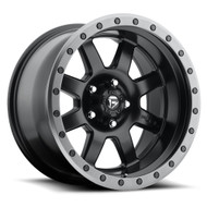 "FUEL TROPHY D551 WHEELS 20X9 6X5.5"" ( 6X139.7 ) +01MM BLACK ANTHRACITE 