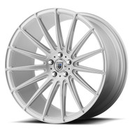 Asanti ABL-14 20x10.5 5x120 Brushed Silver Wheels Rims 38 | ABL14-20055238SL