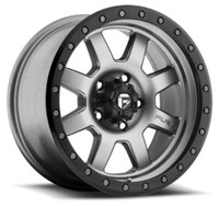 "FUEL TROPHY D552 WHEELS 20X9 6X5.5"" ( 6X139.7 ) +01MM ANTHRACITE BLACK 