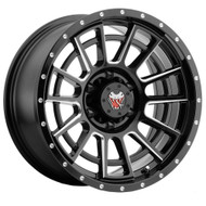 Mamba M22 594MB 16x8 6x4.5 (6x114.3) Matte Black Machined Wheels Rims 10 | 594MB-M226868105