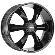 MKW M119 22x9 Wheels Rims Black 18 | M119-2290511518BB