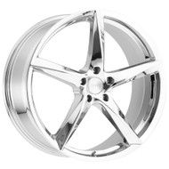 MKW M120 20x8.50 5x120 Chrome Wheels Rims 35 | M120-2085512035C