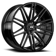 XO Luxury Milan X229 21x10.5 Wheels Rims Black 25 | X229LQ5K25O66