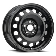 Vision® SW60 Snow Wheel Wheels Rims 14x5.5 4x4.5 (4x114.3) Black 45 | SW60-4548B45