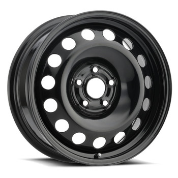 Vision® SW60 Snow Wheel Wheels Rims 14x5.5 4x100 Black 38 | SW60-4549B38