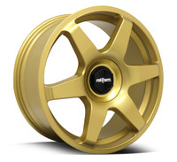 Rotiform® R118 SIX Wheels Rims 19x8.5 5x100 5x112 Gold 45 | R118198514+45