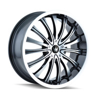 Mazzi® Hype 351 Wheels Rims 18x7.5 5x105 5x115 Black Machined 40 | 351-8729B