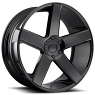 DUB® S216 Baller Wheels Rims 22x8.5 5x4.5 (5x114.3) Black 38 | S216228565+38