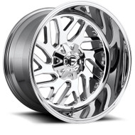 Fuel® D609 Triton Wheels Rims 26x12 8x6.5 (8x165.1) Chrome -44  | D60926208247