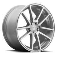 Rotiform® R120 SPF Wheels Rims 18x8.5 5x4.5 (5x114.3) Silver Machined 38 | R120188565+38
