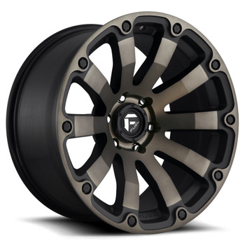 Fuel® D636 Diesel Wheels Rims 20x9 6x5.5 (6x139.7) Black Machined Dark Tint 20 | D63620908357
