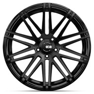 XO Luxury® Milan Wheels Rims 21x10.5 5x120 Black 48 | 2105MIL485120M72