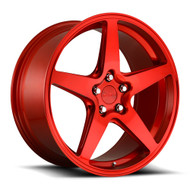 Rotiform® R149 WGR Wheels Rims 19x8.5 5x112 Red 45 | R149198543+45