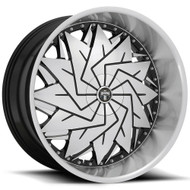 DUB S234 Dazr Wheel 26x9 5x115 5x120 Black Machined 15