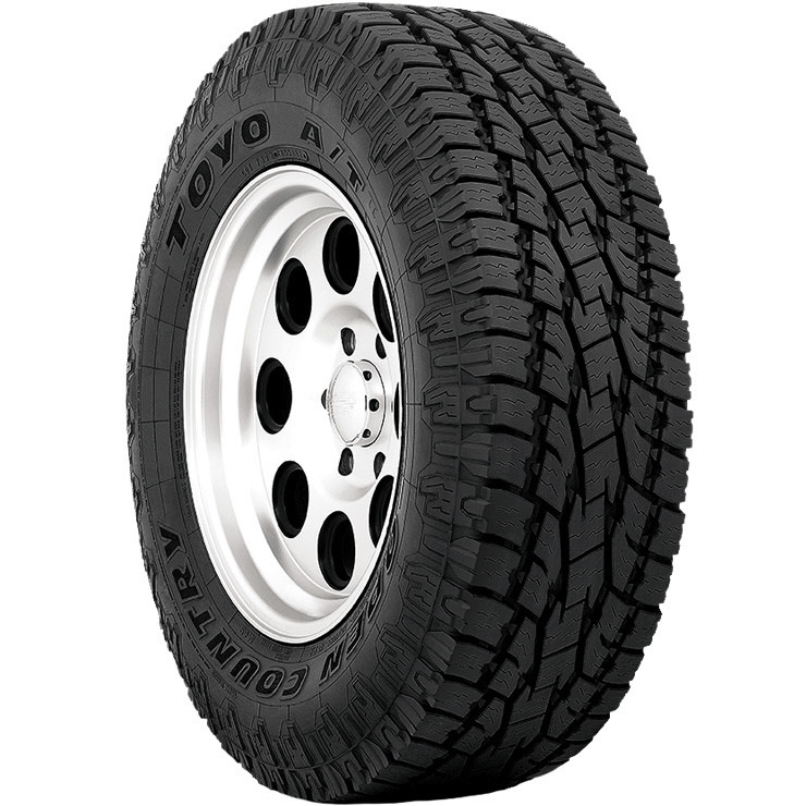 Tire Places Open Today >> Toyo Open Country A T Ii Pmet Tire 225 65r17 102h