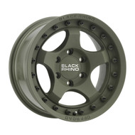 Black Rhino® Bantam Wheels Rims 16x8 6x5.5 (6x139.7) Green -10 | 1680BTM-06140N12