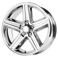 Replica® Iroc Replica R148 Wheels Rims 22x9 5x127 (5x5) Chrome 10 | R148-252710