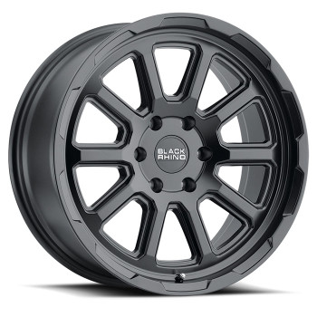 Black Rhino® Chase Wheels Rims 18x9 6x120 Matte Black 12 | 1890CHS126120M67