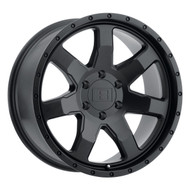 Level 8?« Slam Wheels Rims 17x8.5 6x132 Matte Black 12 | 1785SLM126132M74