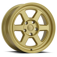 Black Rhino® Rumble Wheels Rims 16x7 5x100 Gold 15 | 1670RBL155100L56