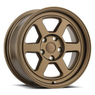 Black Rhino® Rumble Wheels Rims 16x7 5x4.5 (5x114.3) Bronze 15 | 1670RBL155114Z76