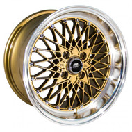MST Wheels® MT16 Wheels Rims 15x8 4x100 Bronze w/ Machined 20 | 16-5849-20-BRZL