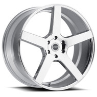 Strada® Perfetto S35 Wheels Rims 28x10 6x5.5 (6x139.7) Chrome 24 | S35A63924
