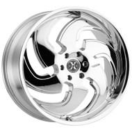 Xcess® X03 Wheels Rims 24x9.5 6x5.5 (6x139.7) Chrome 24 | X03463924