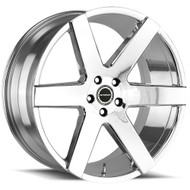 Strada® Coda S60 Wheels Rims 26x10 5x127 (5x5) Chrome 25 | S60652725