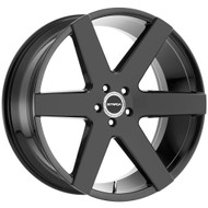 Strada® Coda S60 Wheels Rims 26x10 5x127 (5x5) Gloss Black 25 | S60652725GB