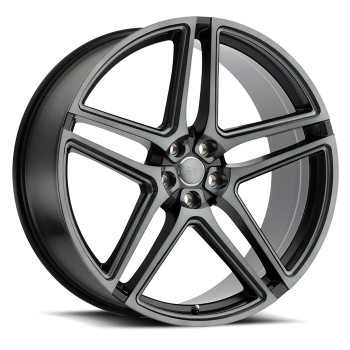Redbourne® Crown Wheels Rims 22x10 5x120 Matte Black 35 | 2210CWN355120F72