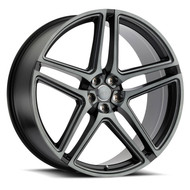 Redbourne® Crown Wheels Rims 24x10 5x120 Matte Black 35 | 2410CWN355120F72