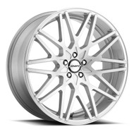 Shift® Formula H32 Wheels Rims 20x8.5 5x108 Brushed Silver 35 | H32050835BFS