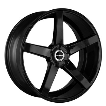 Strada® Perfetto S35 Wheels Rims 20x8.5 5x112 Stealth Black 35 | S35051235SB