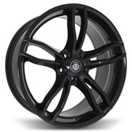 Curva Concepts® C17 Wheels Rims 20x8.5 5x4.5 (5x114.3) Gloss Black 38 | C17-20851143873BLK
