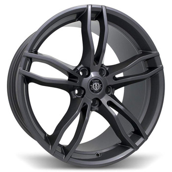 Curva Concepts® C17 Wheels Rims 20x8.5 5x4.5 (5x114.3) Gray 38 | C17-20851143873GRAY