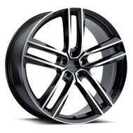 Milanni Clutch 475 Wheel 18x8.5 5x108 Gloss Black Machined 38