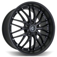 Curva Concepts® C3 Wheels Rims 19x9.5 5x4.5 (5x114.3) Matte Black 40 | C3-19951144073MTBK