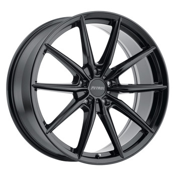 Petrol® P4B Wheels Rims 18x8 5x110 Gloss Black 40 | 1880P4B405110B72