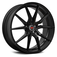 Revolution Racing® RR16 Wheels Rims 17x7 5x100 Satin Black 40   RR16-17705100+40SB