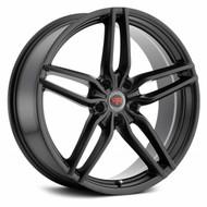Revolution Racing® RR14 Wheels Rims 18x8 5x100 Satin Black 40 | RR14-1885100+40SB
