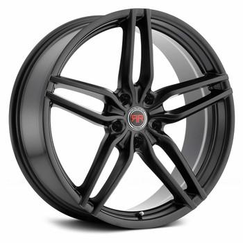 Revolution Racing® RR14 Wheels Rims 20x8 5x108 Satin Black 40 | RR14-2085108+40SB