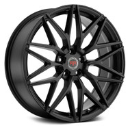 Revolution Racing® RR18 Wheels Rims 20x8 5x112 Satin Black 40 | RR18-208512+40SB