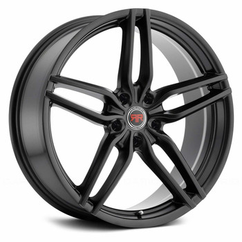 Revolution Racing® RR14 Wheels Rims 20x8 5x120 Satin Black 40 | RR14-2085120+40SB